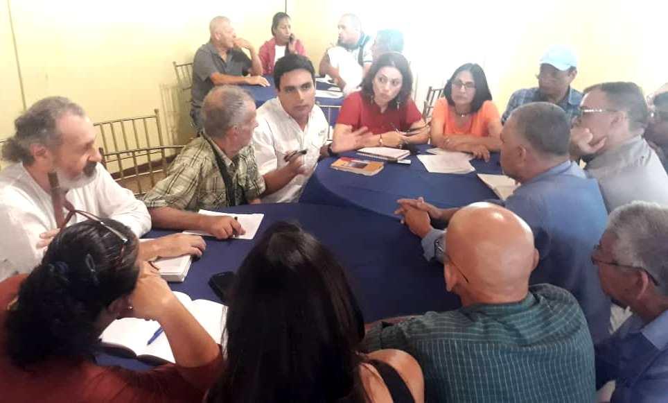 La Mesa Agroalimentaria del Plan País fue una de las más concurridas en Aragua.
