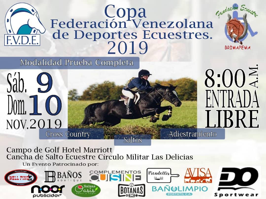 Copa Federación Venezolana de Deportes Ecuestres 2019