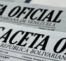 Gaceta Oficial. Decreto 4.080