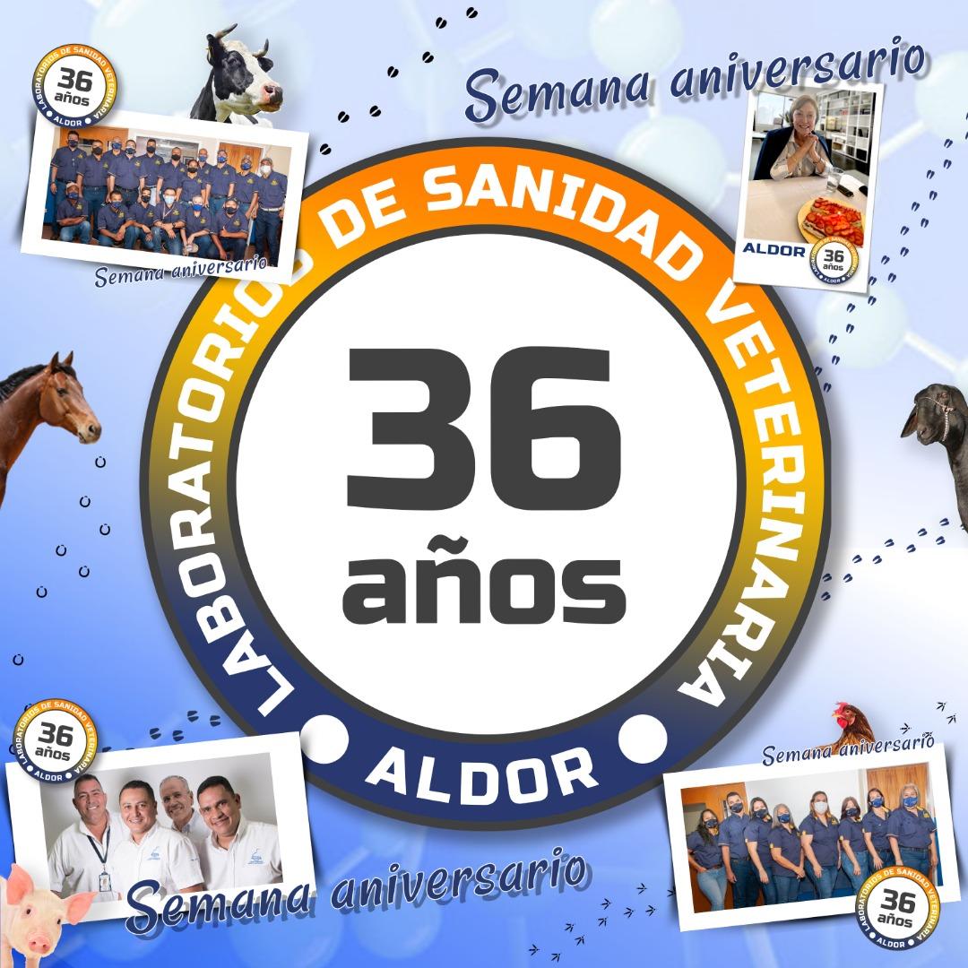 Laboratorios de Sanidad Veterinaria Aldor C.A celebra 36 años de trayectoria empresarial